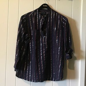 JCrew Shimmering Tunic Top, size 10